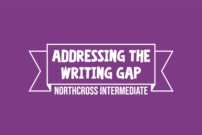 addressing the writing gap