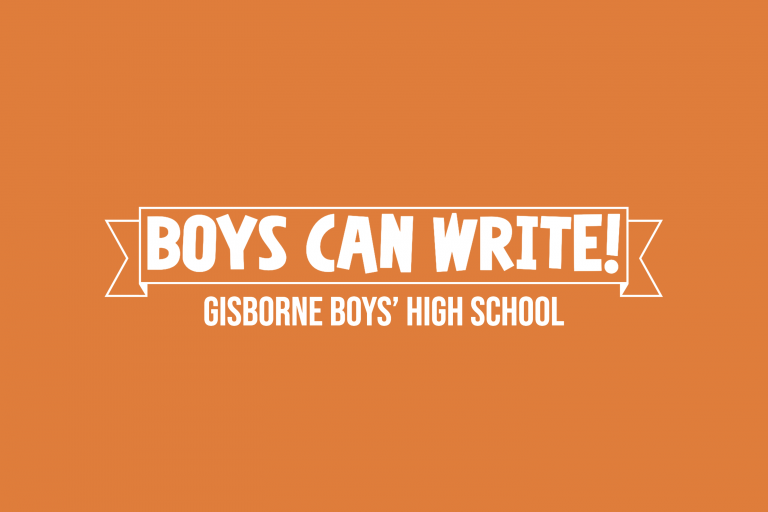 Boys can write