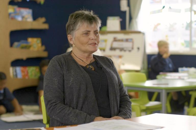 Deputy Principal Sue Caltaux
