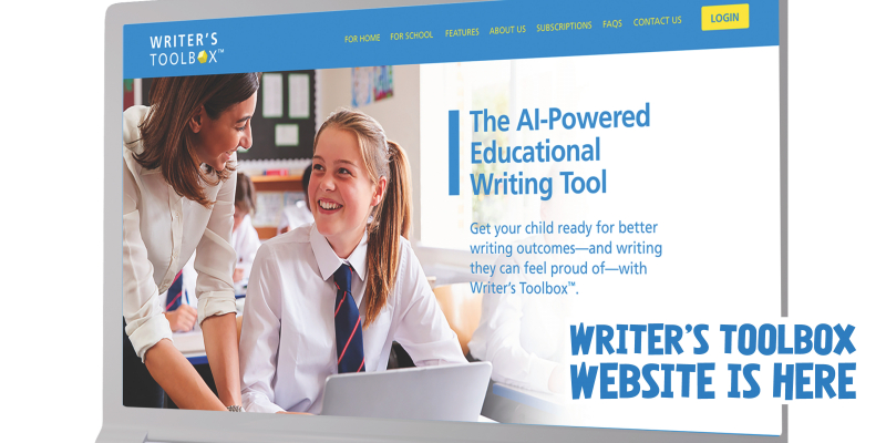 Writer's Toolbox Website is Now live